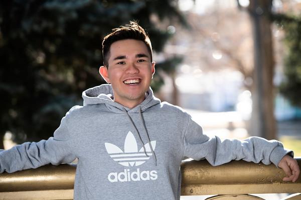 Ben Torres Senior Portrait THS 2020