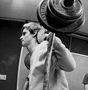 Jan. 1972. Camera Club, Chess, Spanish Club, Weight training in annex. Bro. Michael Bahen & group