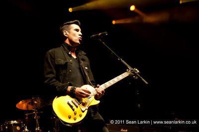 Theory of a Deadman - LG Arena, Birmingham - 22nd November 2011