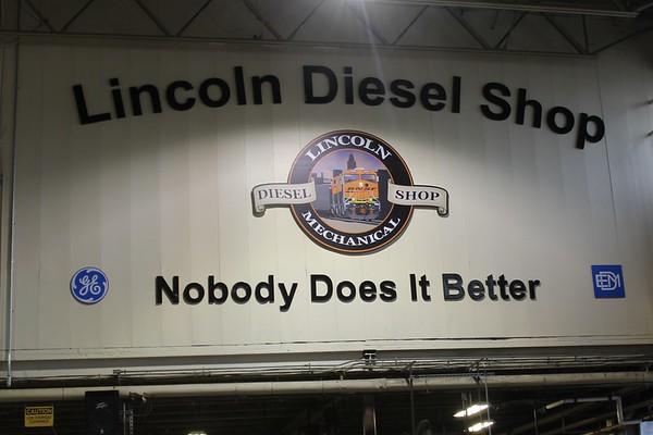 BNSF Lincoln Diesel Shop