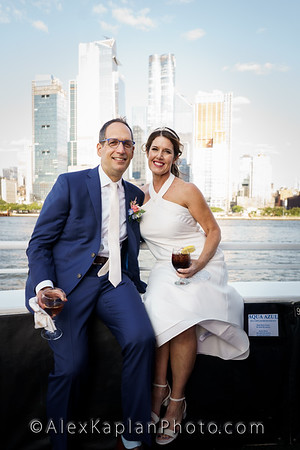 Wedding at the Aqua Azul, New York, NY by Alex Kaplan Photo Video Photobooth