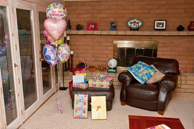 Claire's 6th Birthday Festivities
