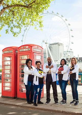 Superheros in London  Westminster