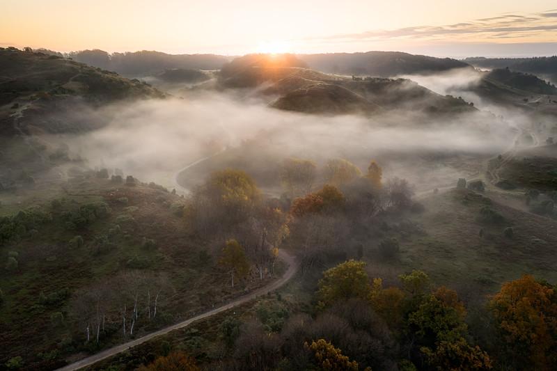 Aerial drone landscape photography denmark rebild bakker morning fog.jpg