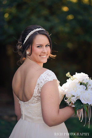 bride at farm wedding at woods.jpg