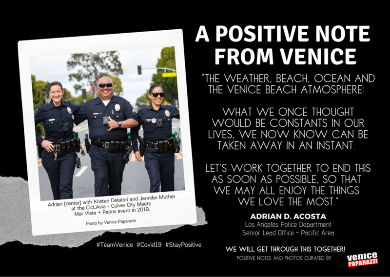 Positive Notes from Venice -