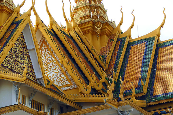 Trip, Gallery # 8 - Vietnam/Cambodia, 11-2016  (Phnom Penh - Royal Palace, Silver Pagoda, National Museum,  Independence Monument, Ko Chen Village)