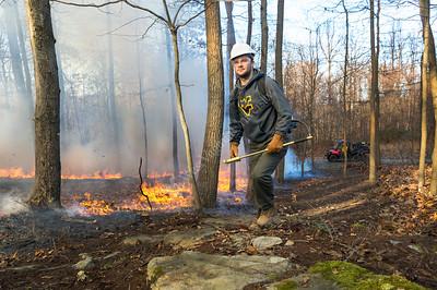 34081 Silviculture Lab Prescribed Burn WVU Forest November 2017