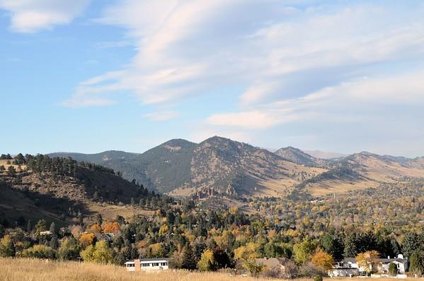 Boulder, Colorado (October 2014)