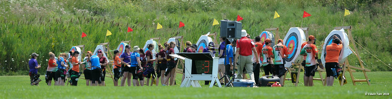 Archery at the Ontario Summer Games 2014 in Windsor