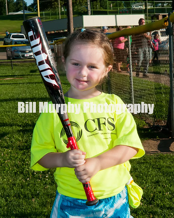 2016 3-4 Girls T-Ball Safety Green Team