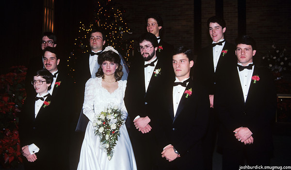 Burdick/Floyd Wedding - Dec 1985