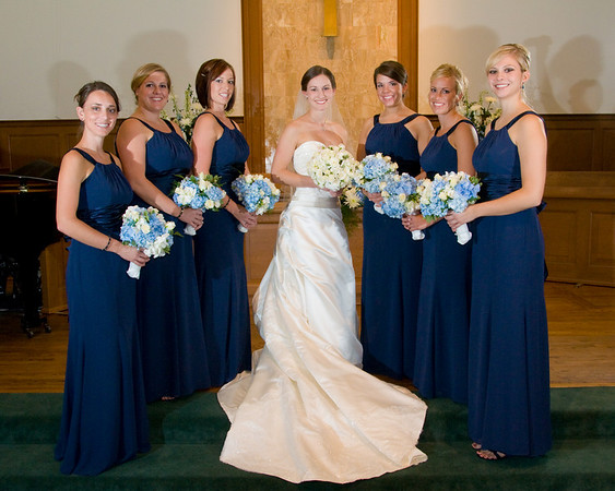 Scott & Kristin Wedding Bride & Bridesmaids 10-18-2008