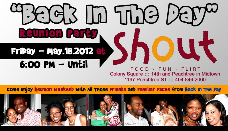 """Back In The Day"" Alumni Reunion Party @ 'SHOUT' ::: ATL, GA, USA [May.18.2012]"