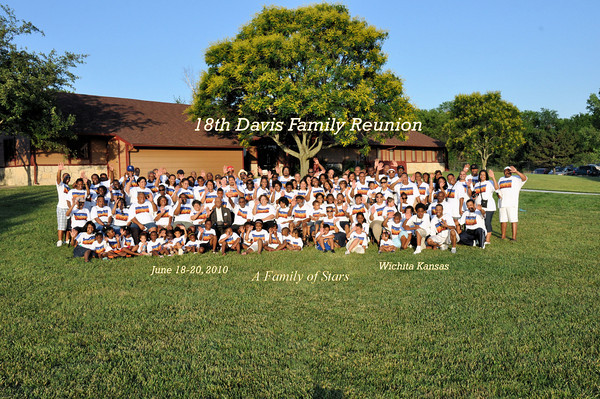 Davis Family Reunion Banquet Wichita KS June 19, 2010
