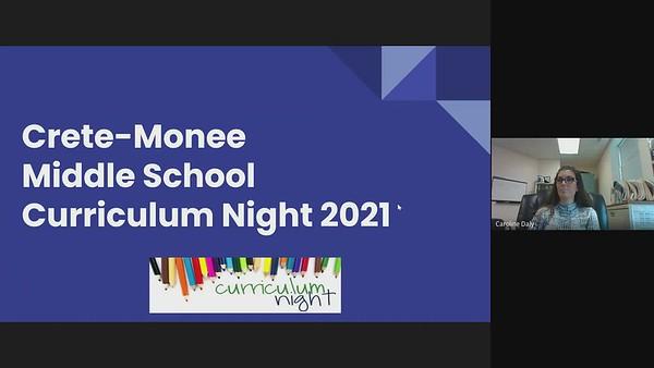 2021-22 Curriculum Night