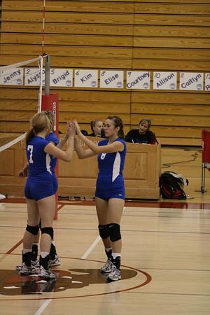 2008 FHS Varsity VB vs Davis 09-24-08