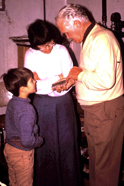 1977 - Jeff & Jo talk with Harold Beatty about rocks.
