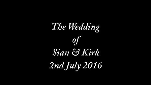 Sian wedding video