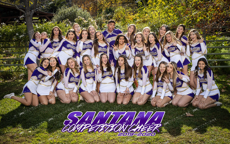 Santana Competition Cheer 2019-20
