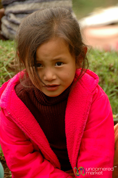 Bright Coat, Cute Smile - Pelling, Sikkim