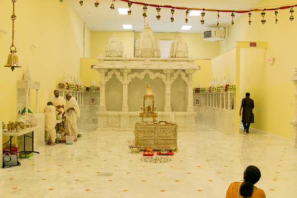 Derasar Opening & Murti Pravesh