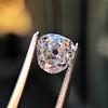 1.03ct Antique Pear/Heart Shape Diamond GIA F VS2 2