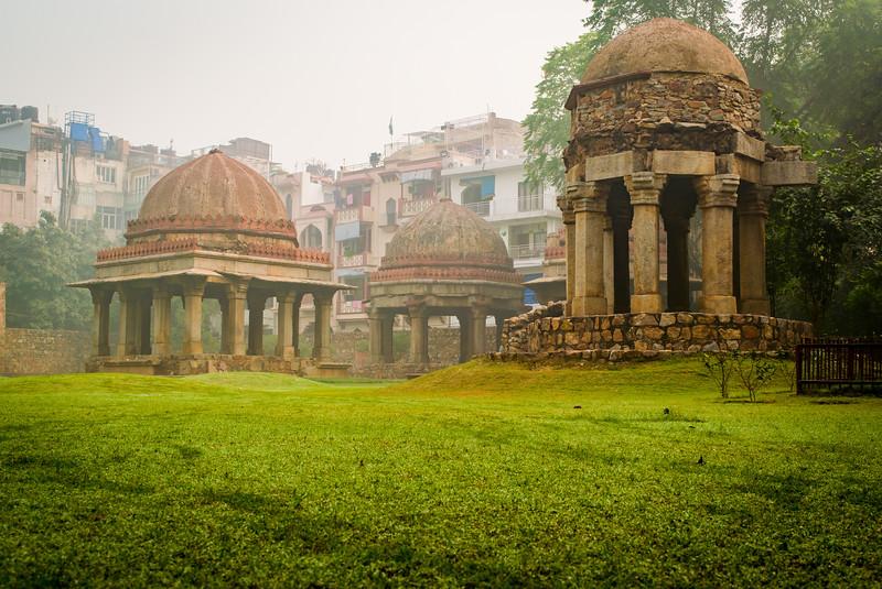 Hauz Khas Fort in Delhi