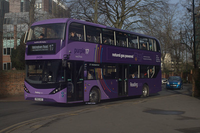 708, YP67XCC, Reading Buses, The Forbury, Reading.