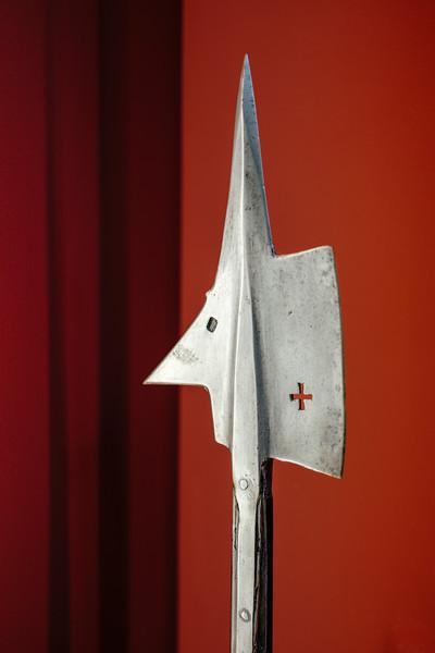 Medieval Halberd at the Musée d'art et d'histoire of Geneva