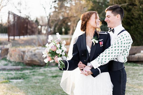 The Leeuwenburg wedding at Coles Garden in OKC