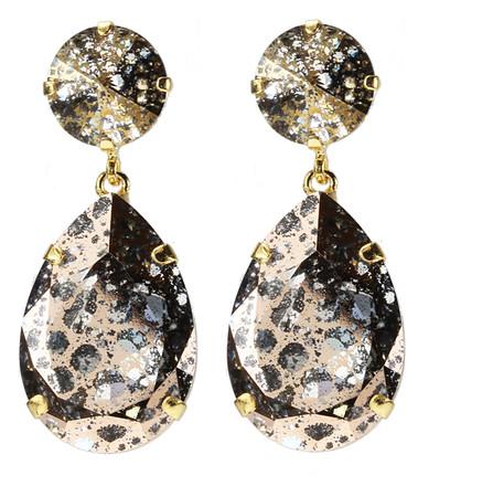 Perfect Drop Earrings / Rose Patina
