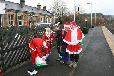 Scouts Santa Walk December 2009