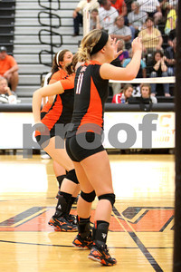 WHS Volleyball vs Minford 8-30-12
