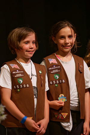 2015-06-09 - Girl Scouts Bridging Ceremony