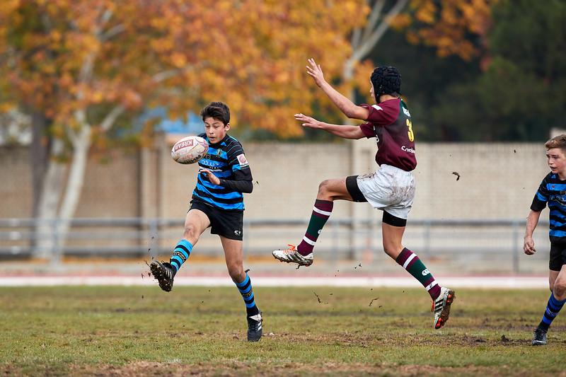 Kreab Alcobendas Rugby Granate vs Industriales Azul: 30-0