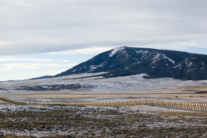 Wyoming Snow Fence
