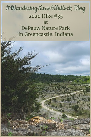 2020 Hike #35 on August 8th at Depauw Nature Park in Greencastle Indiana