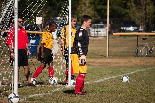CHS JV Soccer 2010