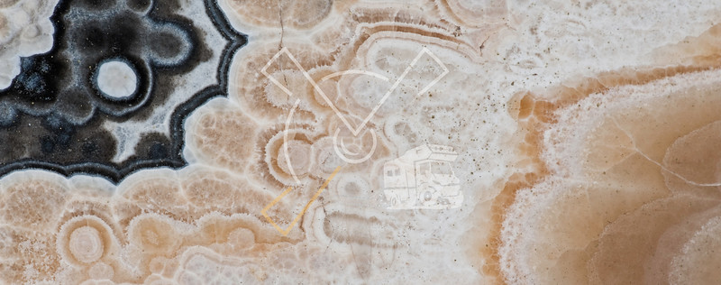 Detail of old marble in Tuscany