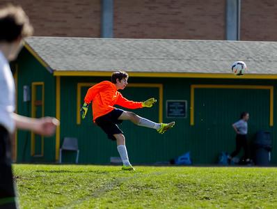 Vashon Island High School Boys JV Soccer v Klahowya 03/14/2018