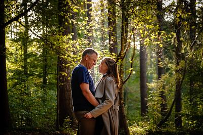 Eva en Wim in Meerdaalwoud