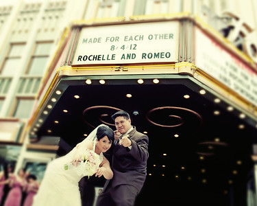 Romeo and Rochelle Album Design