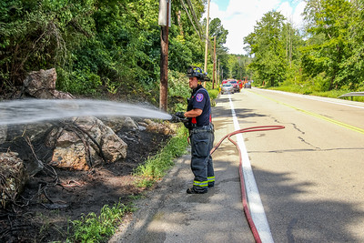8-24-2020 Brush Fire, Route 9