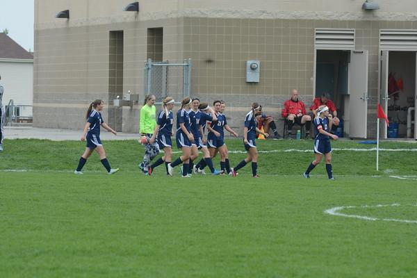 Varsity Girls Soccer vs Gretna-Sub State