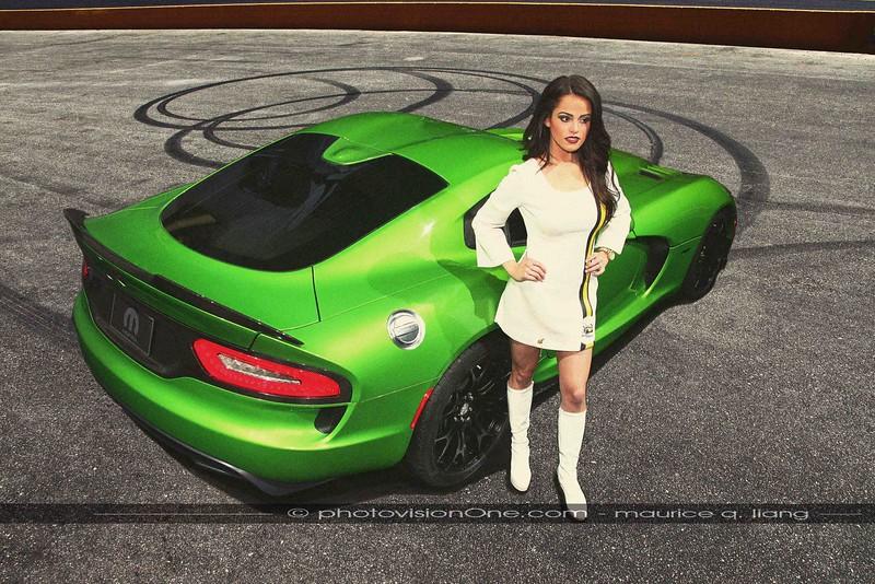 That '70's Look.  2014 Stryker Green Viper GT.  Model: Sherman