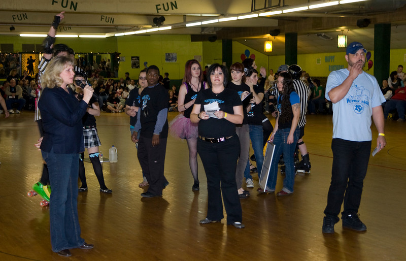 Diamond Divas vs. Prison City Derby Dames