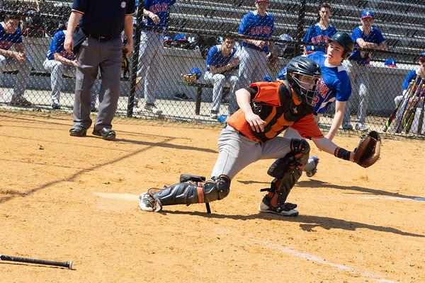 Tuckahoe vs Blind Brook Baseball