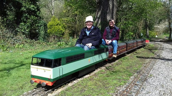 North Wilts Model Engineers at Coate Water Swindon