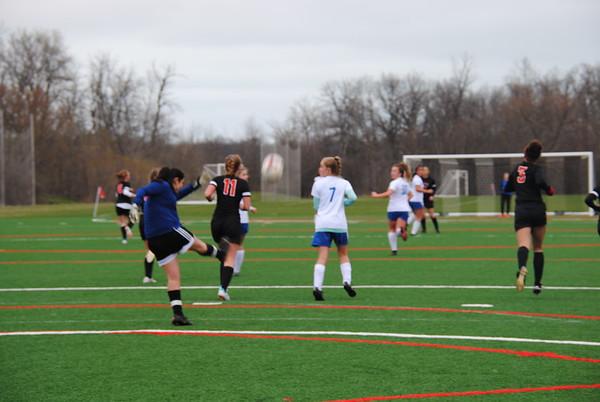 LFA Girls soccer vs LFHS